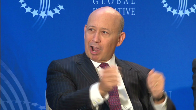 Goldman Sachs CEO Lloyd Blankfein was one of the executives whose stock award was accelerated to beat higher tax rate.