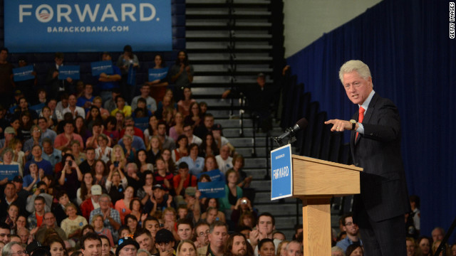 Bill Clinton to hit the campaign trail again for Obama