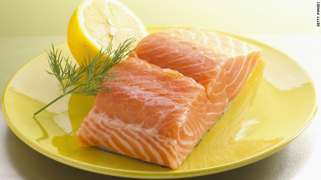 Salmon is full of omega-3s, which regulate oil production in the skin and boost hydration, keeping your complexion dewy and acne-free.