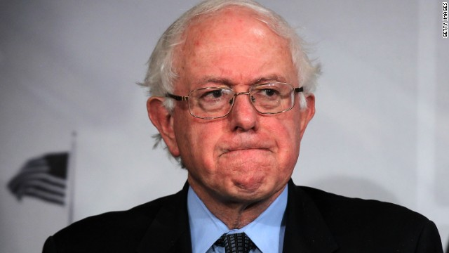Sanders assails Wall Street CEOs for entitlement cuts