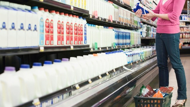 Not all milks are created equal: look for skim or low-fat options and keep an eye out for dietary restrictions.