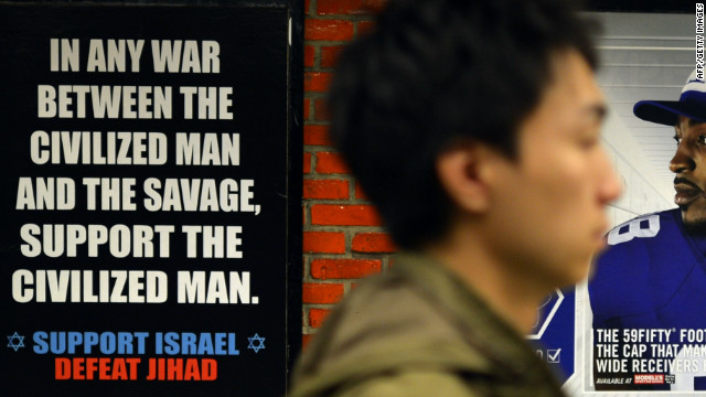 Anti-jihad ads make their way to D.C. subways