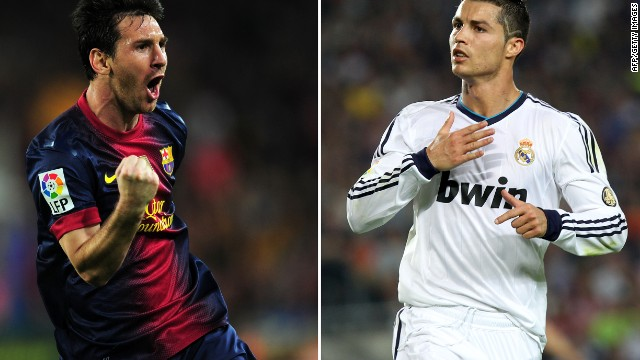 Then there's modern football's greatest rivalry -- Lionel Messi and Cristiano Ronaldo. &quot;I'm not sure Messi is a rival with anyone, he still has that unique joy of just playing,&quot; Tu says. &quot;But I think with Ronaldo, the truth is Messi is his nemesis -- and the fact that Messi doesn't care makes it even worse.&quot;