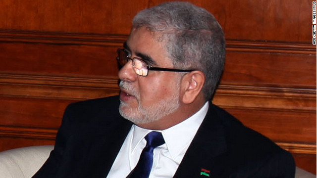 Libyan Prime Minister-elect Mustafa Abushagur proposed a downsized 10-member
