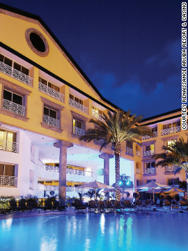 The resort offers discounts on rates, starting at $260 per night, which are directly related to how the presidential candidates are polling.