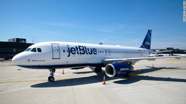 """We've all heard the quote from people: 'If my candidate loses, I'm going to leave the country,' "" said Marty St. George, a JetBlue senior vice president. The airline will help you do it (with a return ticket if you want to come back)."