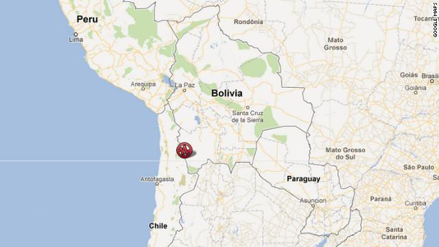 Sismo de magnitud 5,8 sacude el norte de Chile