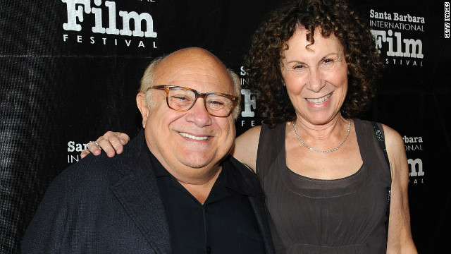 Danny DeVito and Rhea Perlman broke fans' hearts in October 2012 <a href='http://marquee.blogs.cnn.com/2012/10/08/danny-devito-rhea-perlman-separate/?iref=allsearch' target='_blank'>when they announced that they were separating</a> after 30 years of marriage. <a href='http://www.people.com/people/article/0,,20682518,00.html' target='_blank'>By March 2013</a>, though, the comedic couple was back together.