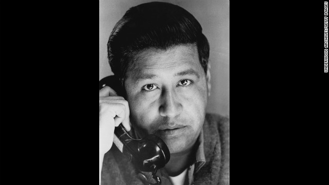Cesar Chavez was born near Yuma, Arizona, in 1927.