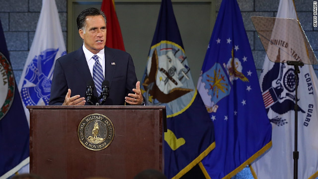 Romney, Obama have one (big) difference on foreign policy