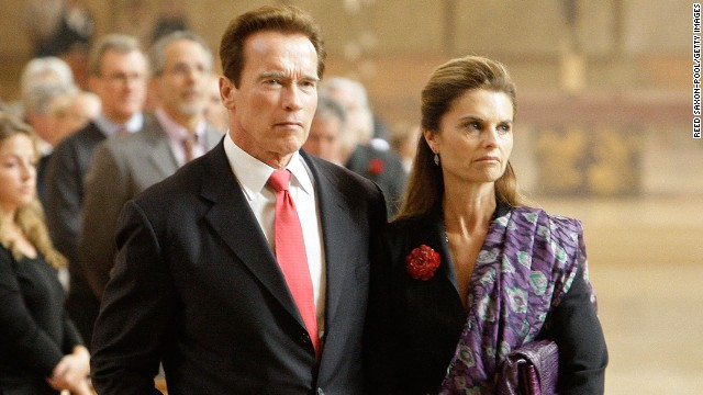 Former California Gov. Arnold Schwarzenegger and Maria Shriver separated in May 2011 after 25 years of marriage. The public has since learned of Schwarzenegger's affair with the family's housekeeper that resulted in the birth of his fifth child.