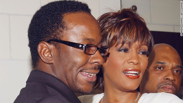 After years of rumors about drug abuse and separation, Whitney Houston and Bobby Brown publicly split in 2006 after 14 years of marriage.
