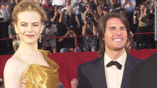 Tom Cruise and Nicole Kidman collaborated on four films together, including the controversial &quot;Eyes Wide Shut,&quot; during their 11-year marriage. The couple split in 2001.