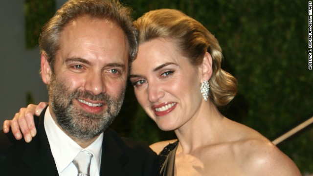 After almost seven years together, Kate Winslet and director Sam Mendes went their separate ways in March 2010. The couple said the split was mutual and that they would continue raising their children together.