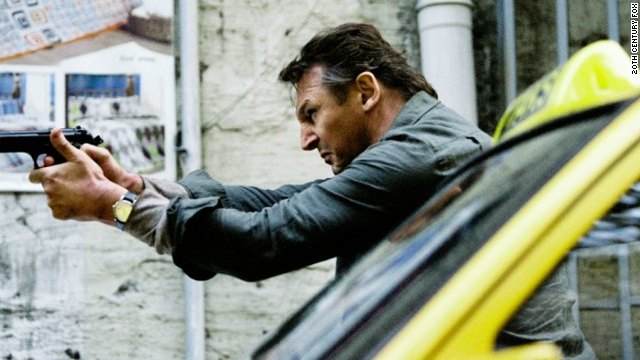 Liam Neeson stars as operative Bryan Mills in the action film,