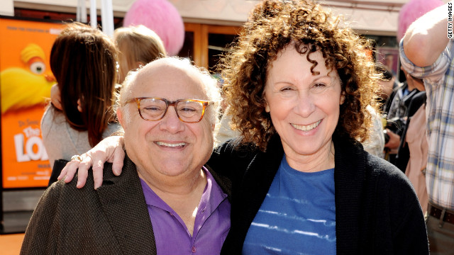 Danny DeVito's trying to work it out with Rhea Perlman