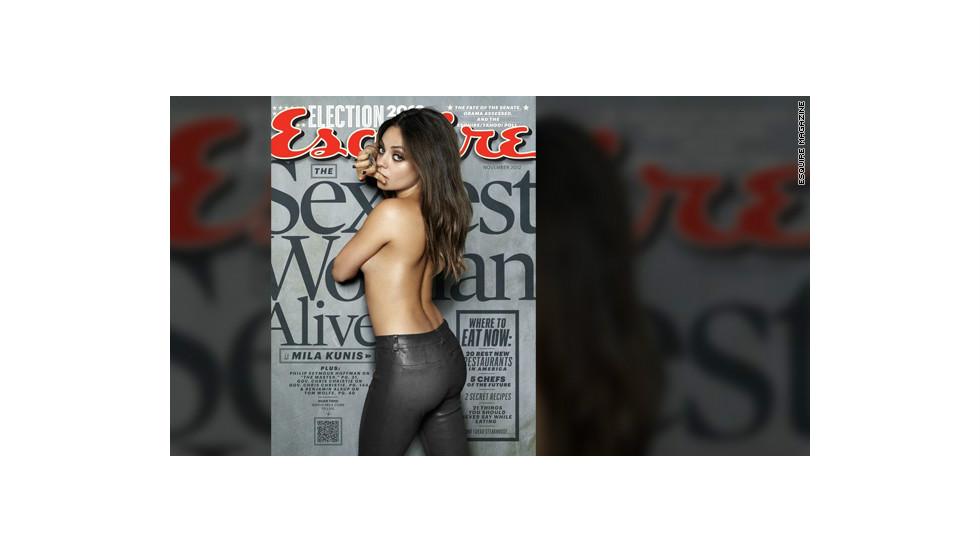 Las mujeres más sexy del mundo según Esquire