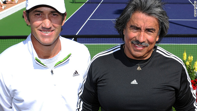 Darren Cahill (left) and Gil Reyes worked together to keep Agassi at the top of his game. &quot;After a tournament, Darren [Agassi's former coach] would often say: 'get him in the gym, because I see a different guy on the court when he's been in the gym,'&quot; Reyes said.