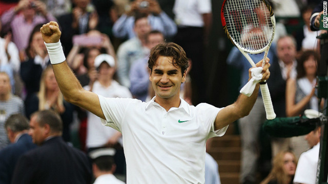 The 31-year-old Swiss champion has enjoyed another stellar year at the top of the men's game, winning six titles in 2012, including a seventh Wimbledon crown. He is the oldest men's singles champion at the All England Club since Arthur Ashe in 1975 and joins Andre Agassi and Pete Sampras as the only 30-somethings to win a grand slam this century.