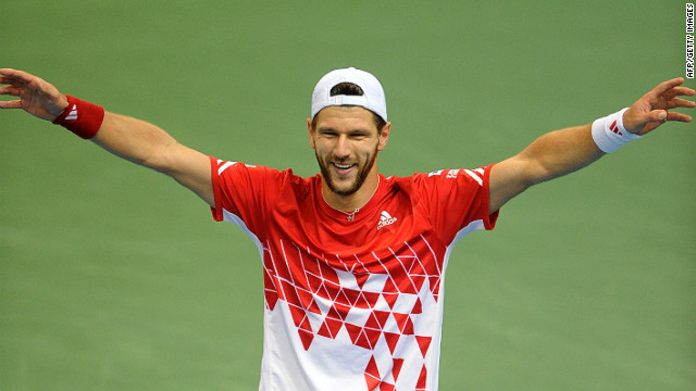 Austria's Jurgen Melzer has also enjoyed a good year. The 31-year-old is currently ranked 37 in the world and won the ATP tournament in Memphis in February.