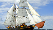 Cargo ship Tres Hombres.
