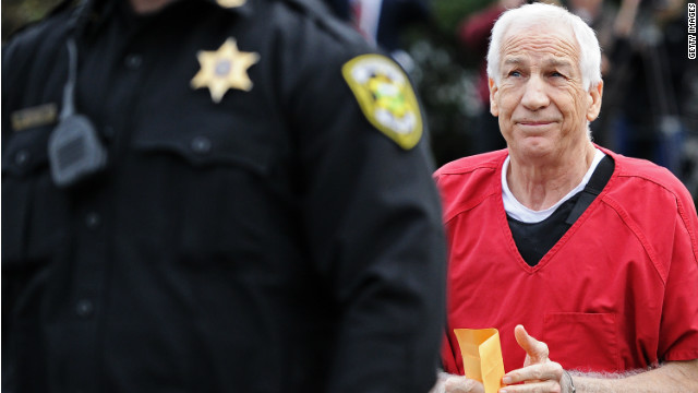 Jerry Sandusky gets sentence of 30 to 60 years for child sex abuse