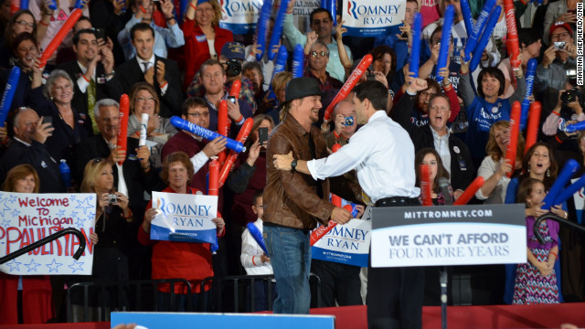 Paul Ryan and Kid Rock talk politics