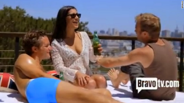 Entrepreneurs chill poolside in Bravo's