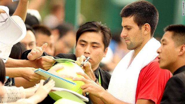 Novak Djokovic is aiming to recapture his world number one ranking at the Shanghai Masters