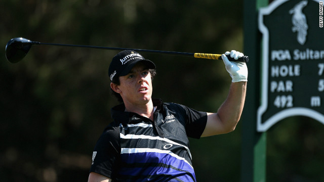 Rory McIlroy sank to defeat during his opening match at the World Golf Finals in Turkey