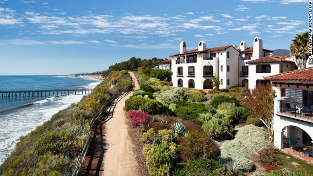 Located a 78-acre bluff overlooking the Gaviota Coast in Santa Barbara, Bacara Resort & Spa is a short drive from the region's wine country. The resort is offering a package throught the end of November that allows guests to participate in winemaking with local vintners.