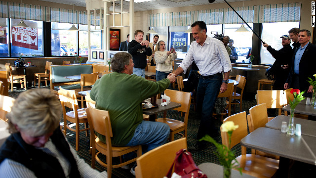 #Homestretch: Romney warms up for Wolf with Wendy&#039;s