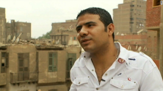 Sherrif Mohamed has struggled to find work in Egypt since Hosni Mubarak was overthrown. He's just 24-years-old, but feels he has little future in the country. 