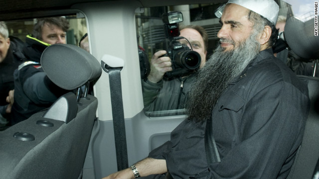 Muslim cleric Abu Qatada has been described as 
