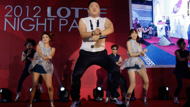 The video for Psy's &quot;Gangnam Style&quot; has racked up more than a billion hits on YouTube, becoming the most-watched entry of all time.