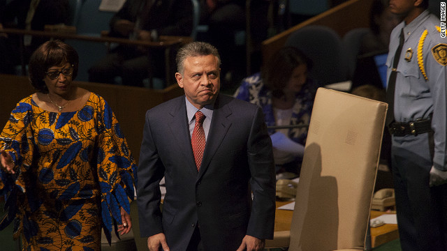 Jordan's King Abdullah II (pictured) appointed a new prime minister Wednesday.