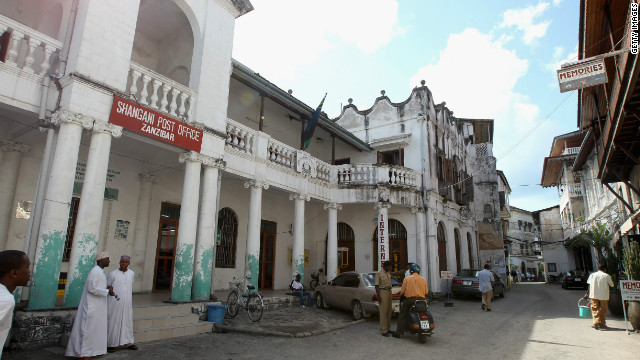 Stone Town in Zanzibar is a UNESCO World Heritage Site.
