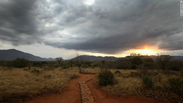 Mkomazi National Park, one of 15 National Parks in Tanzania.