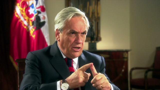 Sebastián Piñera asegura que quiere un Chile de primer mundo para 2020