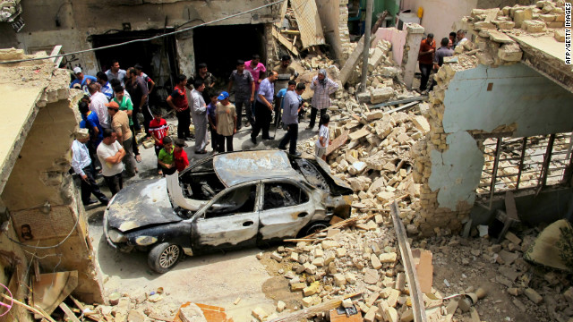 The Iraq Body Count project estimates that seven people have been killed every single day by suicide and car bomb attacks this year.