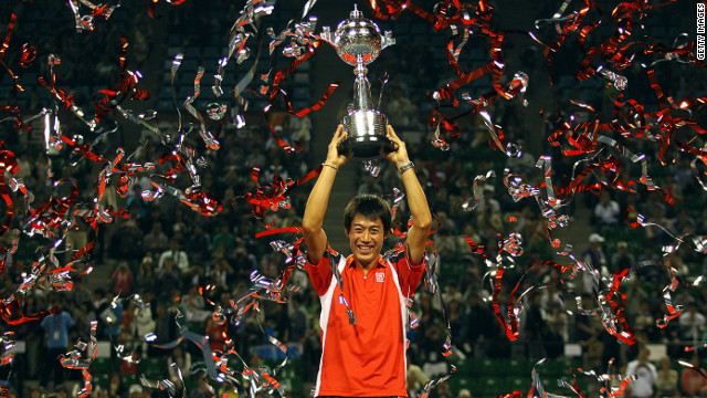Nishikori's recent victory at the Japan Open confirmed his pedigree at the top of the men's game. It was the first time in the event's 40-year history there had been a home winner.