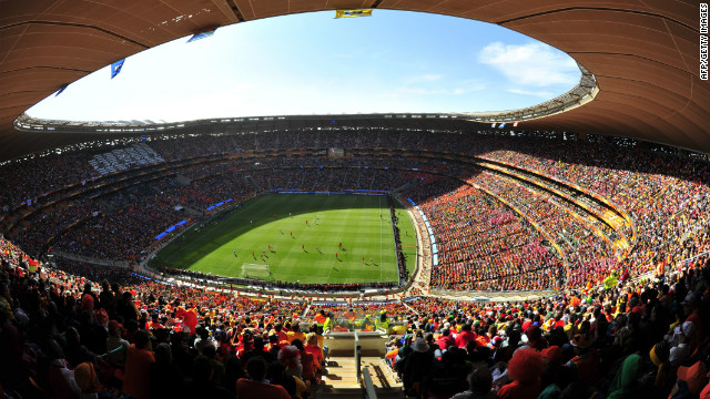 The final of the 2013 Africa Cup of Nations will be played in Johannesburg's Soccer City stadium, which hosted the 2010 World Cup final, on February 10 2013.
