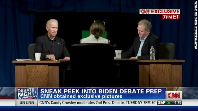 FIRST ON CNN: Biden debate prep photos