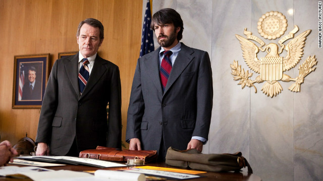 "The positive buzz was huge for ""Argo"" and actor/director Ben Affleck, right, after his success with ""The Town."" ""Argo"" still stands out among December's heavy hitters, as it hasn't been forgotten by the SAG or Golden Globe Awards."