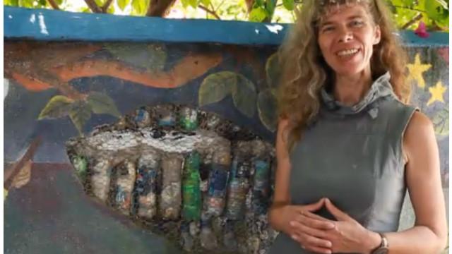 """Susanne Heisse, la """"transformer"""" de la basura"""