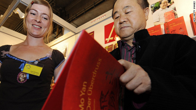 China's Mo Yan wins literature Nobel