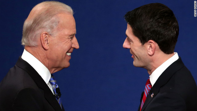 Vice President Biden and vice presidential candidate U.S. Rep. Ryan go head to head in the first and only vice presidential debate.