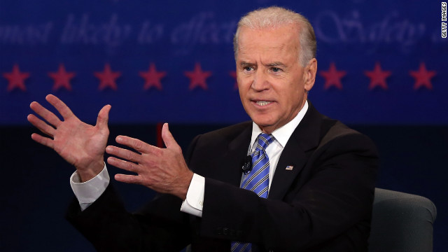 Vice President Biden responds to points made.