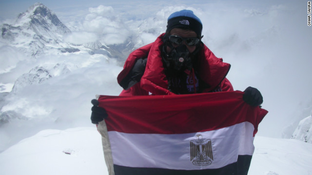 Omar Samra: First Egyptian to climb Everest