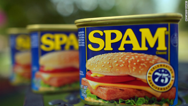 You got Spam in my peanut butter!